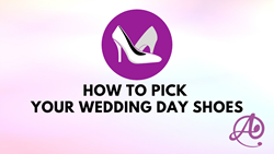 How to Pick Your Wedding Shoes