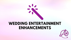 Wedding Entertainment Add Ons
