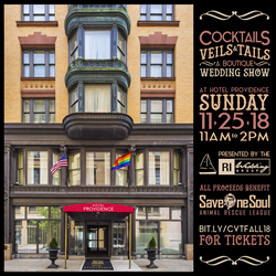 5 Reasons to Attend Cocktails Veils & Tails