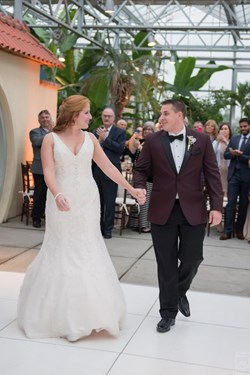 Reception Recap: Roger Williams Botanical Garden (Debbie & Jeff)